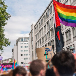 Demonstration beim CSD Frankfurt am Main 2016