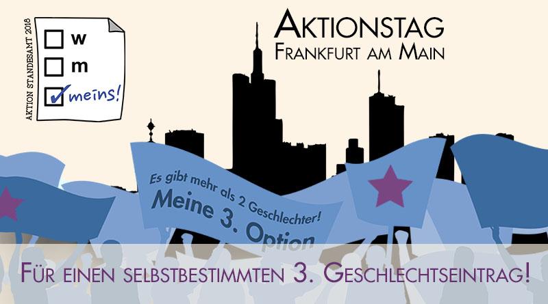 Aktion Standesamt 2018 Aktionstag Frankfurt