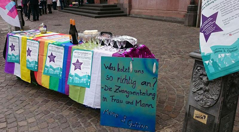 Aktion Standesamt 2018 Rede zum Internationalen Mädchentag in Frankfurt am Main 2018